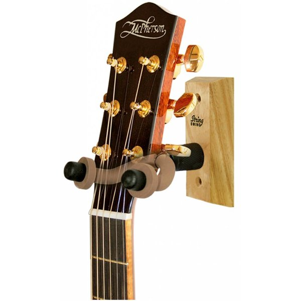 String Swing String Swing CC01 Hardwood Home and Studio Guitar Hanger