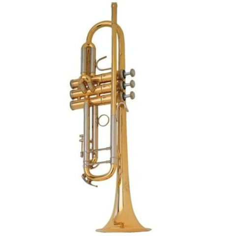 B&S Challenger I Trumpet Gold Lacquer 3137-GL
