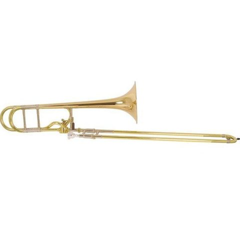 Bach 42AFG Stradivarius Professional Tenor Trombone, Gold Brass Bell, No Case