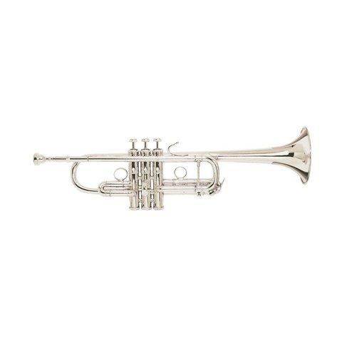 "Bach C180SL229PCW1 Strad ""Philly C"" Profess C Trumpet Silver Pltd No case"