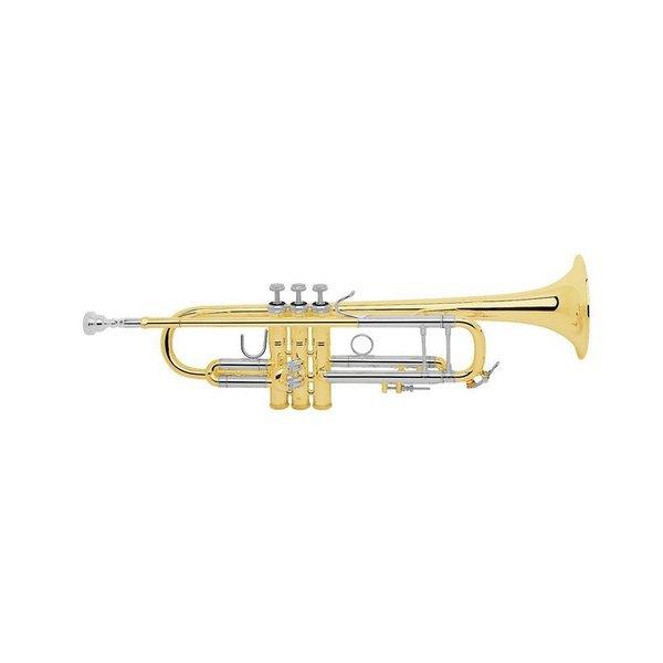 Bach Bach LR18037G Stradivarius 180 Series Profess Bb Trumpet, #37 Gold Brass Bell
