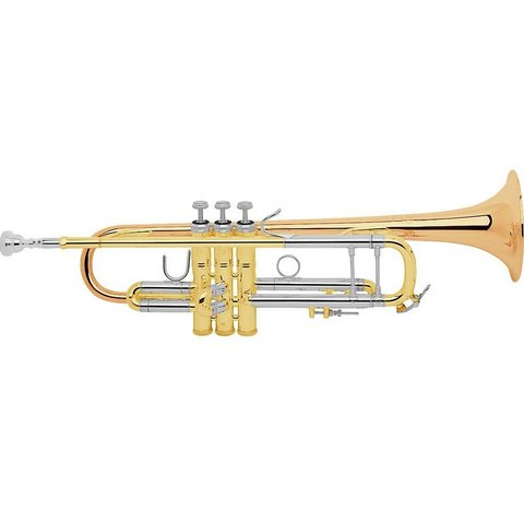 Bach 18037G Stradivarius Model 37 Profess Bb Trumpet #37 Gold Brass Bell No Case