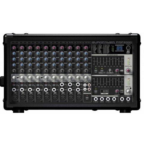 Behringer PMP2000 800W 14-Channel Mixer, M-FX