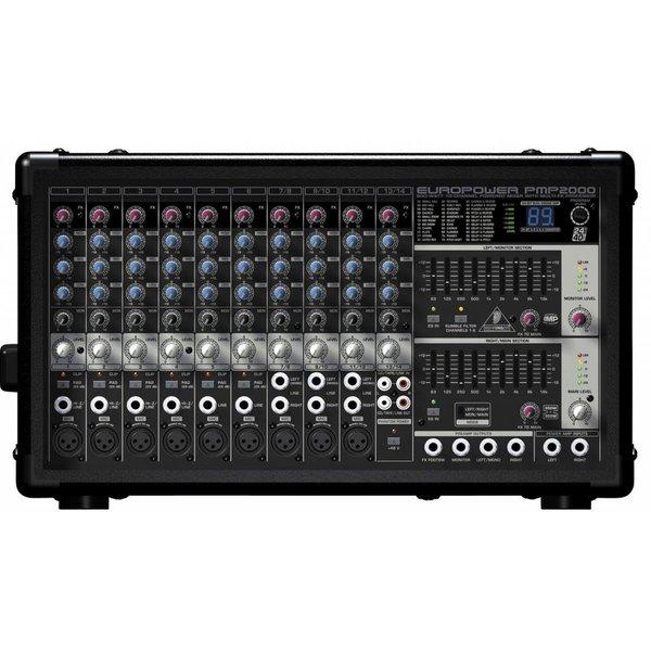 Behringer Behringer PMP2000 800W 14-Channel Mixer, M-FX
