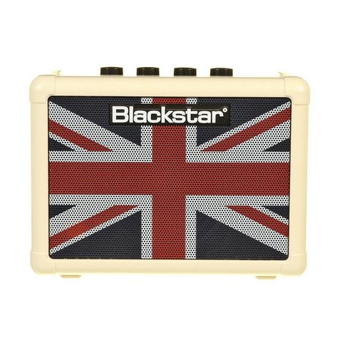 "Blackstar FLY3UJ Union Jack Flag 3W 1x3"" Guitar Combo Amp"