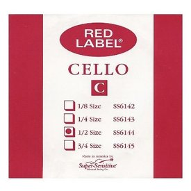 Melody Music Shop LLC Super Sensitive Red Label 1/2 Cello C
