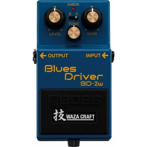Boss BD2W Blues Driver Waza Craft Special Edition