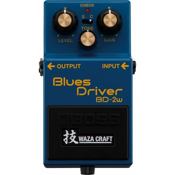 Boss Boss BD2W Blues Driver Waza Craft Special Edition