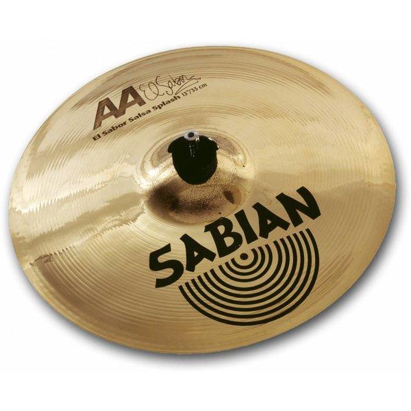 """Sabian Sabian 21360 13"""" AA El Sabor Salsa Splash"""