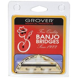 Trophy Grover 72 Minstrel 5 String Banjo Bridge, 1/2""