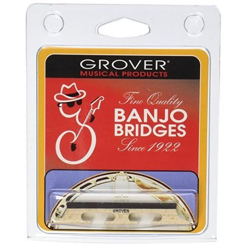Grover 72 Minstrel 5 String Banjo Bridge, 1/2""