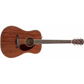 Fender PM-1 Dreadnought All Mahogany, Rosewood Fingerboard, Natural