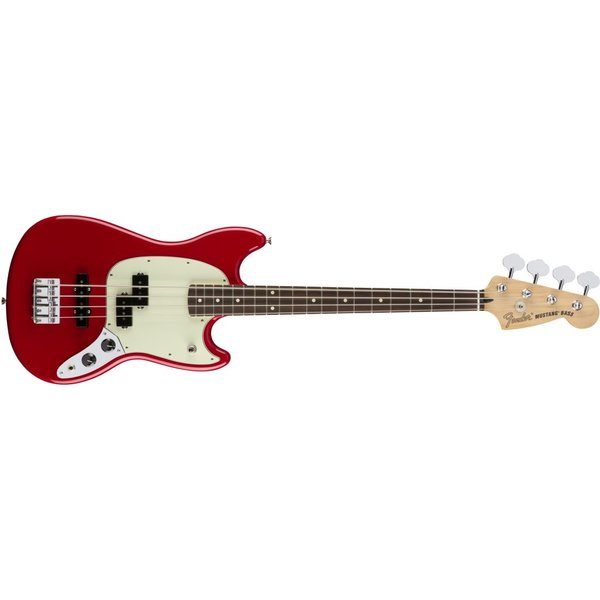 Fender Mustang Bass PJ, Rosewood Fingerboard, Torino Red