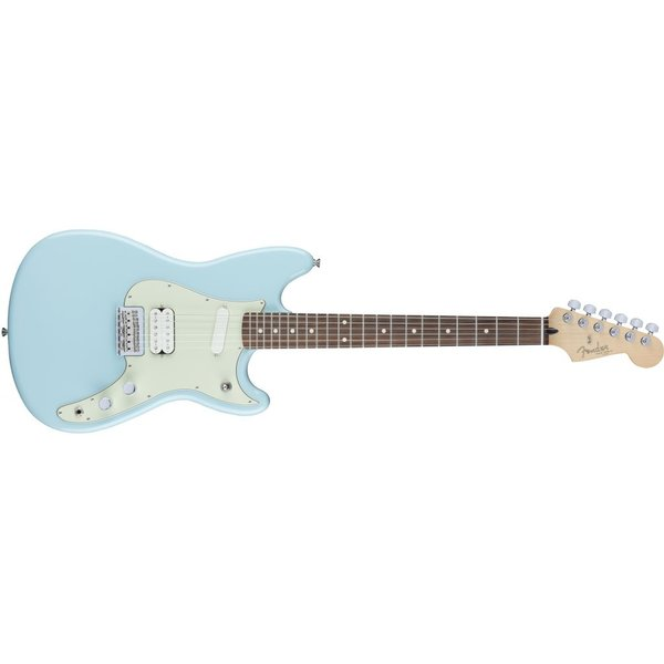 Fender Duo-Sonic HS, Rosewood Fingerboard, Daphne Blue
