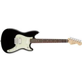 Fender Duo-Sonic HS, Rosewood Fingerboard, Black