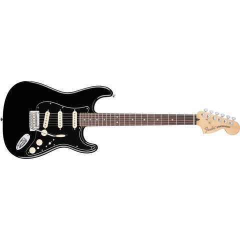 Deluxe Stratocaster, Rosewood Fingerboard, Black