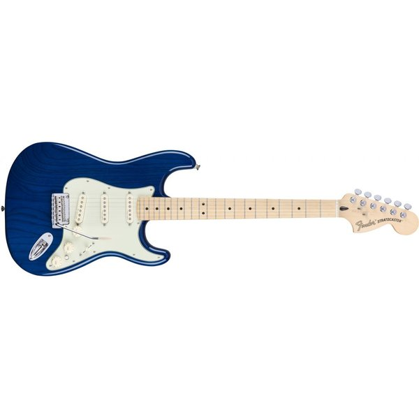 Fender Deluxe Stratocaster, Maple Fingerboard, Sapphire Blue Transparent