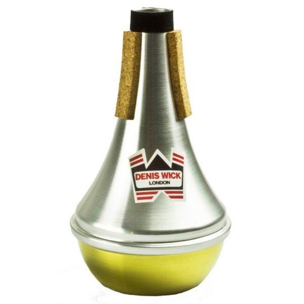 Denis Wick Denis Wick D Trumpet/Eb Cornet Aluminum Straight Mute; Brass Bottom