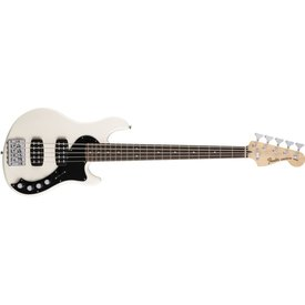 Fender Deluxe Dimension Bass V, Rosewood Fingerboard, Olympic White