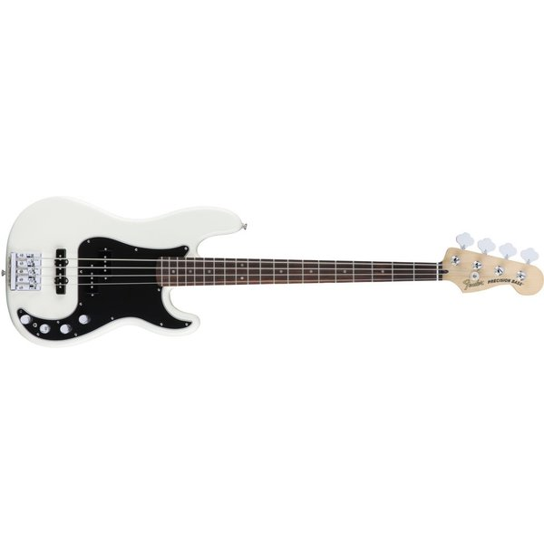 Fender Deluxe Active P Bass Special, Rosewood Fingerboard, Olympic White