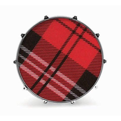 "Evans 24"" Fabric Plaid 2"