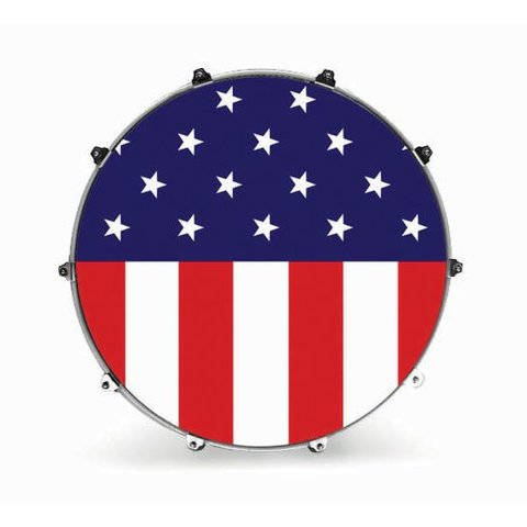 "Evans 22"" Graphic American Flag"