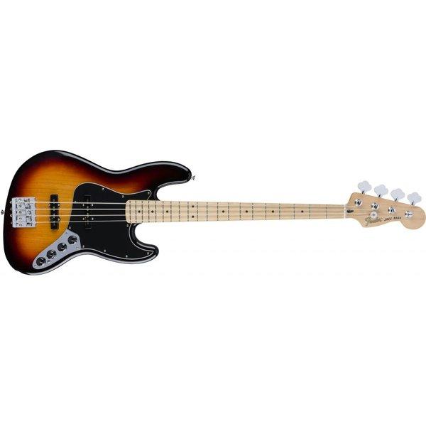 Fender Deluxe Active Jazz Bass, Maple Fingerboard, 3 Color Sunburst