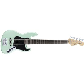 Fender Deluxe Active Jazz Bass V, Rosewood Fingerboard, Surf Pearl