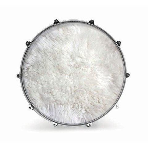 "Evans 24"" Fabric Polar Bear Fur"