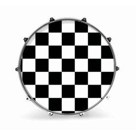 "Evans Evans 20"" Graphic White Checker"