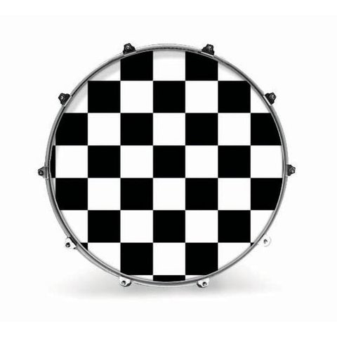 "Evans 20"" Graphic White Checker"