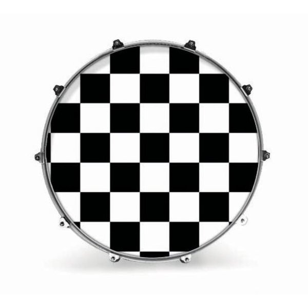 "Evans Evans 20"" Graphic White Checker"