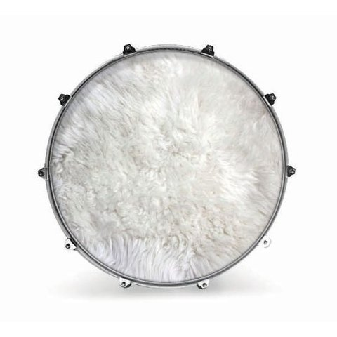 "Evans 22"" Fabric Polar Bear Fur"