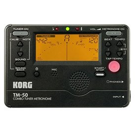 Korg Korg TM50 Full Feature Tuner Metronome Black TM50BK
