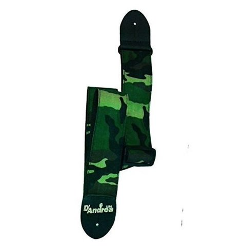 D'Andrea APFW12 Camouflage Guitar Strap