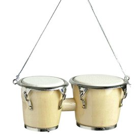 Music Treasures Co. Narural Wood Bongo Ornament