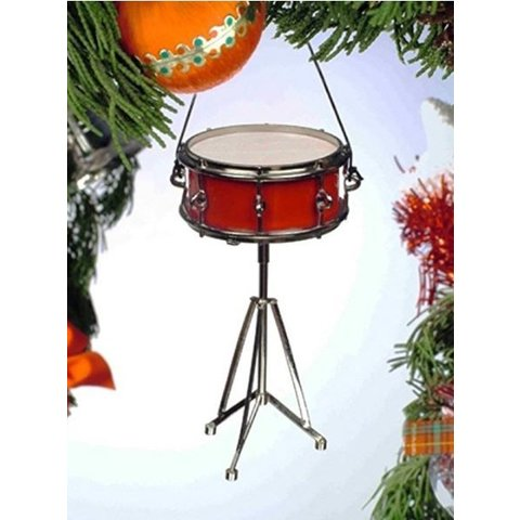 "Snare Drum Ornament 3.5"""