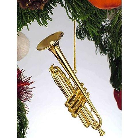 Trumpet Ornament Gold