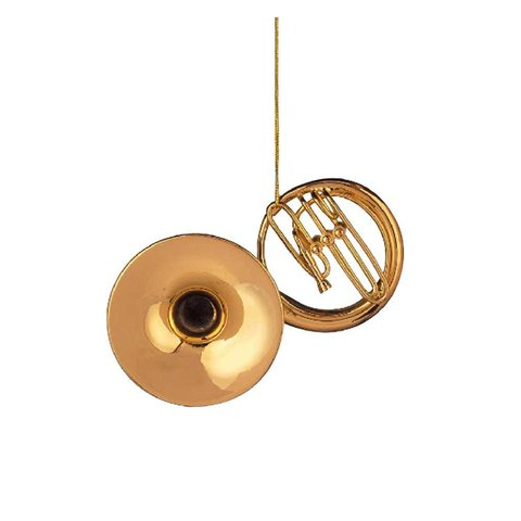 Gold Sousaphone Ornament