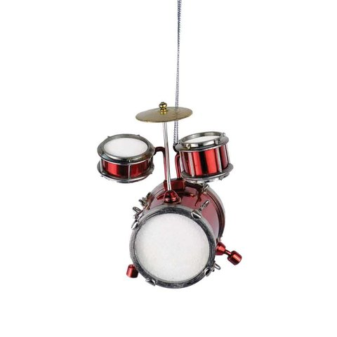 Red Junior Drum Set Ornament
