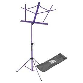 On Stage On-Stage SM7122PB Compact Sheet Music Stand with Bag, Purple