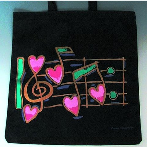 Tote Heart Notes