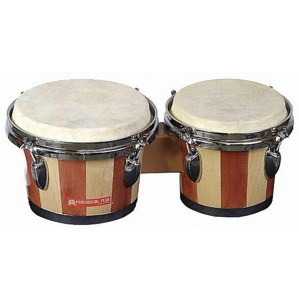 Percussion Plus Percussion Plus 714 Tunable Bongos Natural
