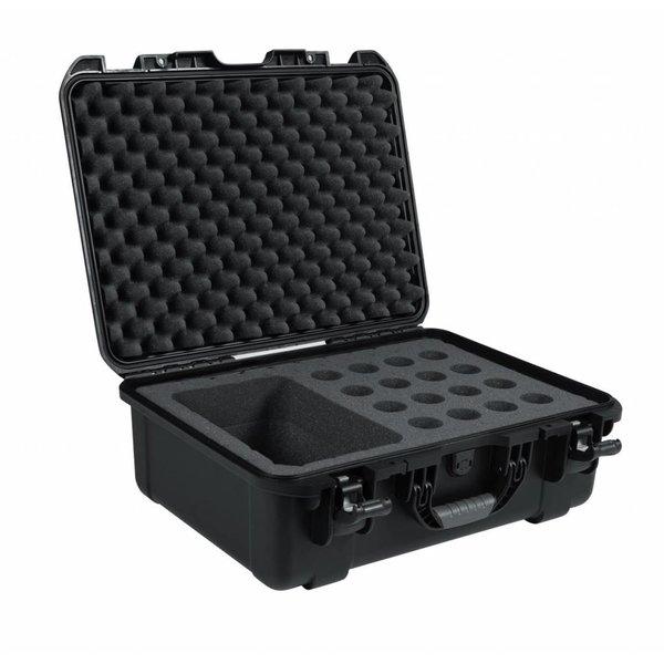 Gator Gator GM-16-MIC-WP Waterproof mic case-16 mics