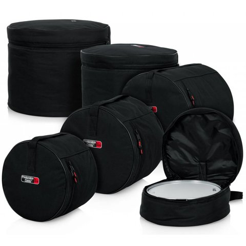 "Gator GP-FUSN-100-14T 5-Piece Fusion Set Bags; 14"" Tom"