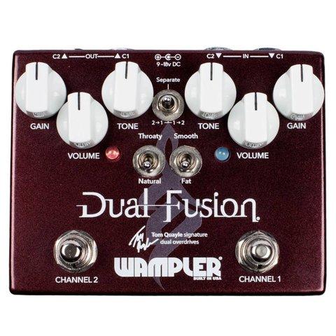 Wampler 2868 Dual Fusion Tom Quayle Signature Dual Overdrive