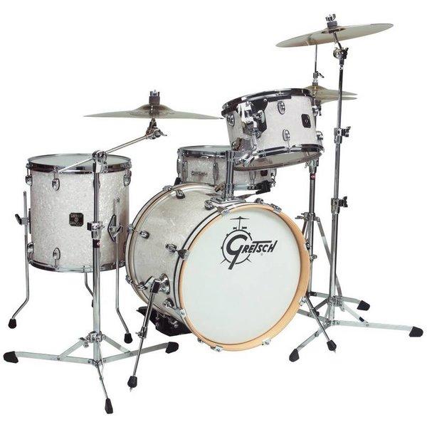 Gretsch Drums Gretsch CC-J484 Catalina Jazz 4 Piece Shell Pack w Tom Mount & Bass Drum Riser