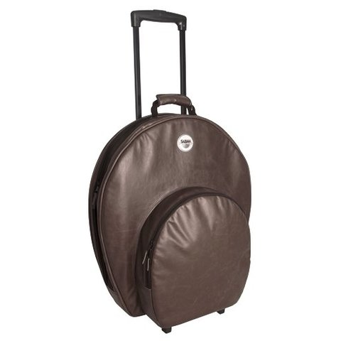 Sabian P24VBWN Sabian PRO 24 CYMBAL BAG in vintage brown