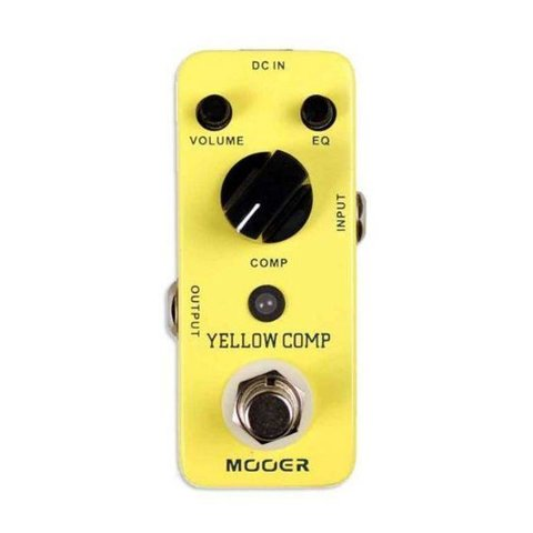 Mooer MCS2 Yellow Compressor Pedal