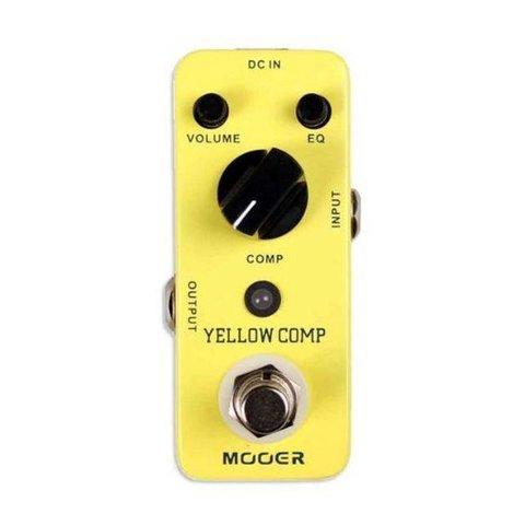 Mooer MCS2 Yellow Compressor Pedal